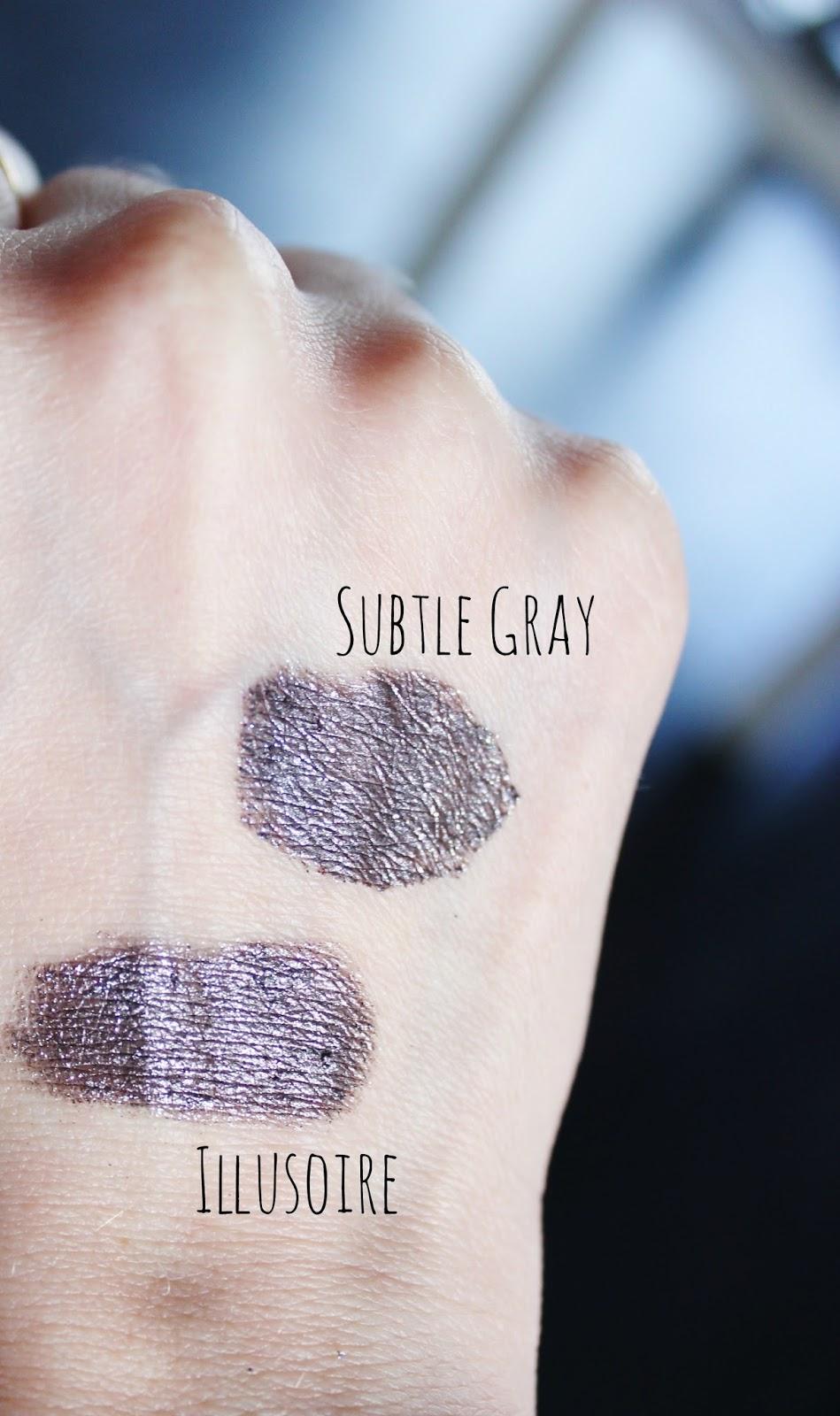 ombres crème illusoire chanel subtle gray sephora