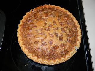 show me how to make pecan pie