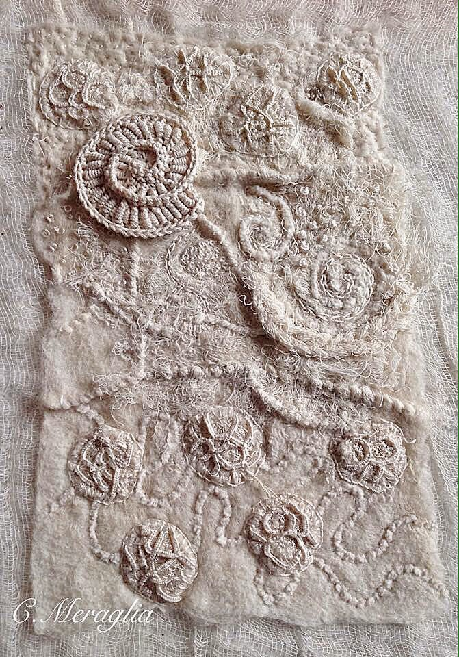 Textiles  Embroidery Amp Stiches On Pinterest  Textile Art