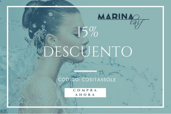 15% DESCUENTO MARINA LAIF: COSITASSOLE