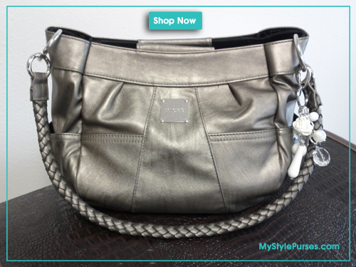 Miche Kinsley Demi Shell with Pewter Rope Handles
