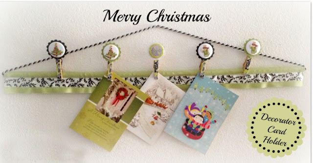 Merry Christmas Holder  card