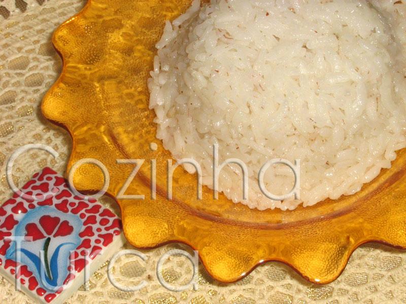 Pilaf de Arroz (Pirinç Pilavı)