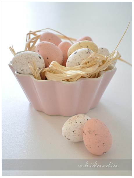 wielkanoc - cukrowe czekoladowe jajka