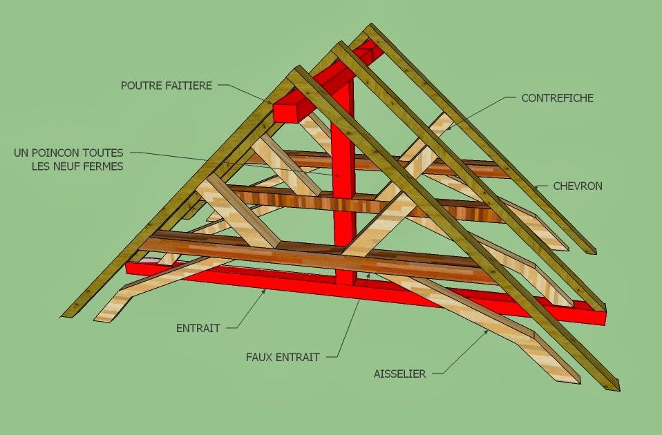 zabulle et ses f lures charpente chevrons formant ferme de l 39 glise romane de brissarthe. Black Bedroom Furniture Sets. Home Design Ideas