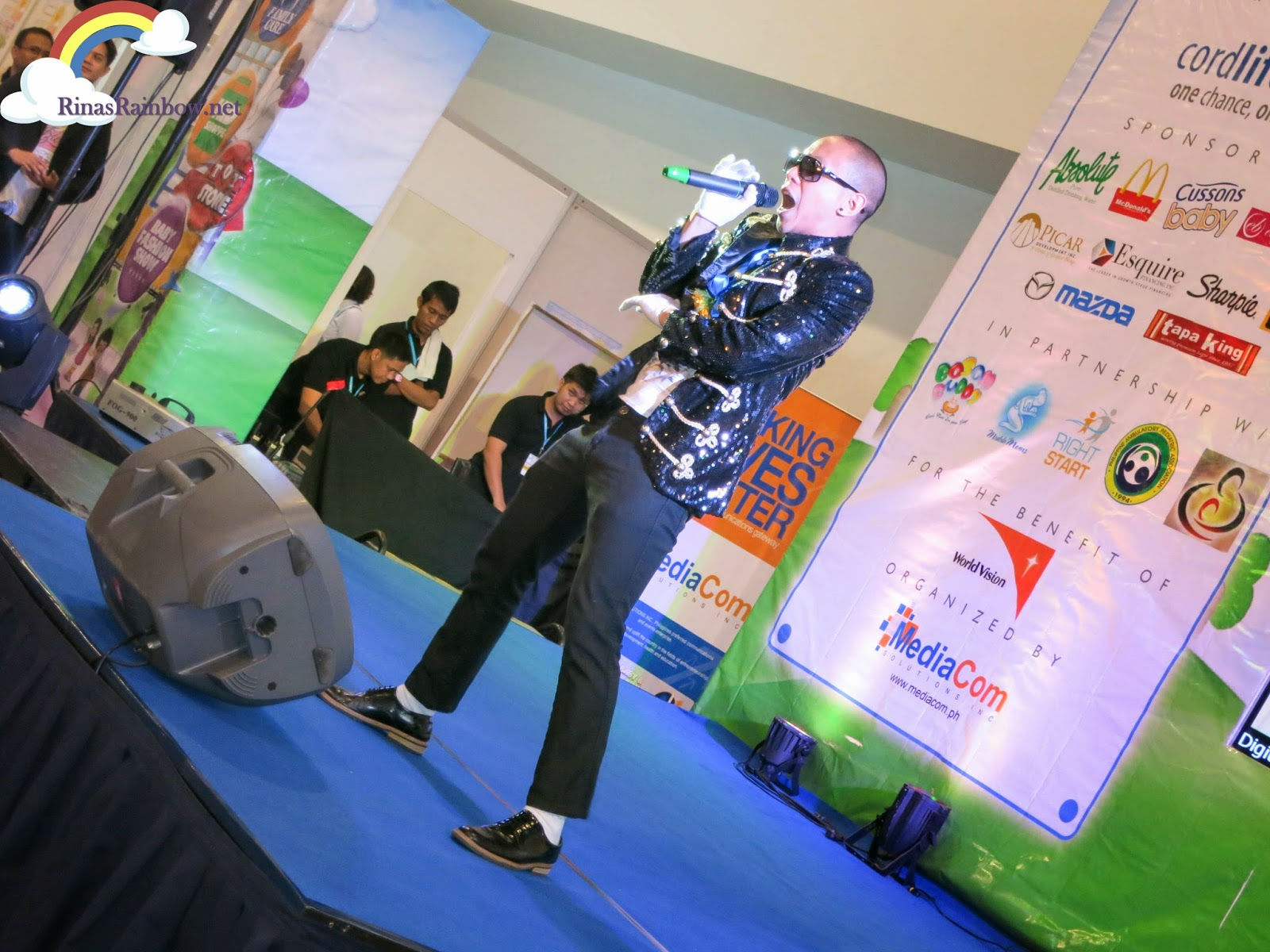 baby and family expo 2013 mikey bustos