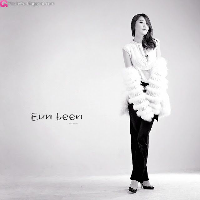 3 Eun Bin Yang in White-very cute asian girl-girlcute4u.blogspot.com