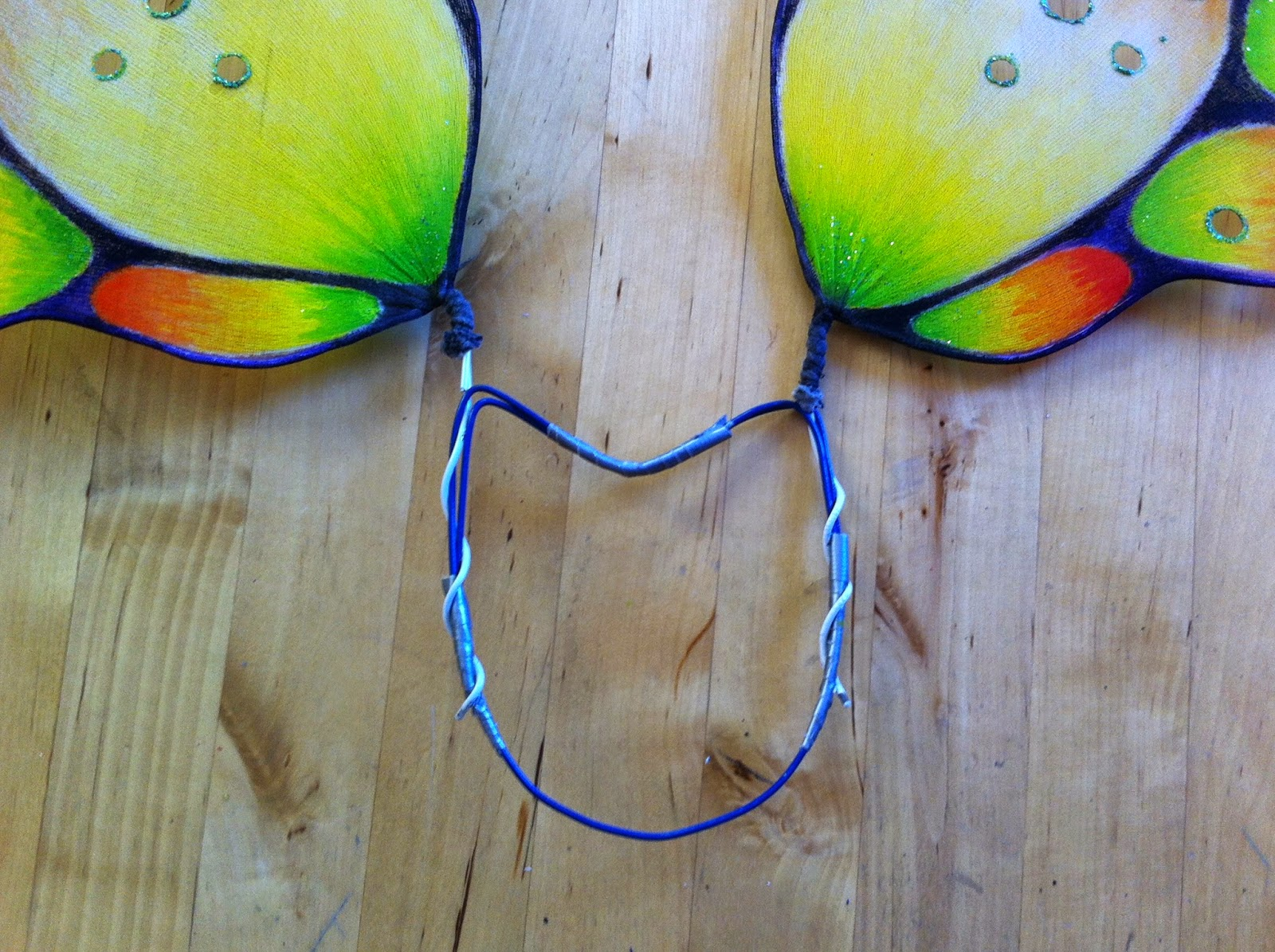 how to make quick easy fairy wings