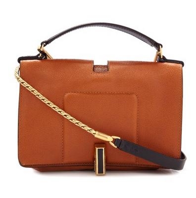 Calvin Klein Collection - Tan Leather Cross Body Bag