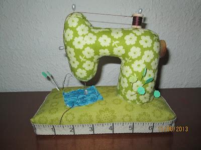 Creaciones artisticas nessy set de costura maniqui y alfiletero maquina de coser - Set de costura ...