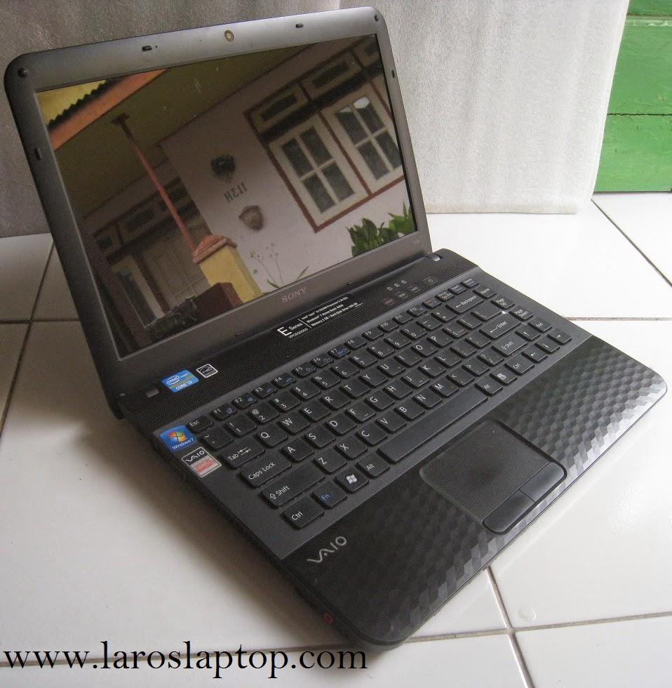 Laptop Bekas, Jual SONY VAIO VPCEG35EG