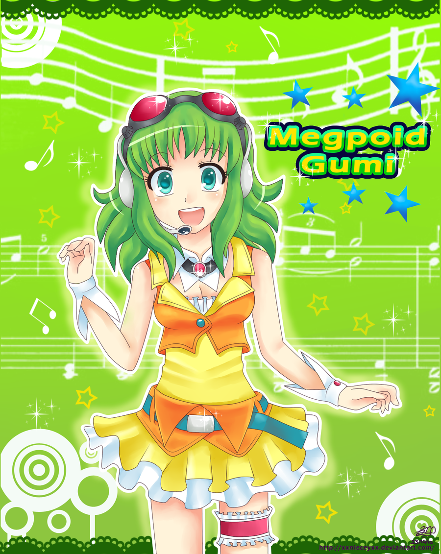 Cream Wings VOCALOID GUMI MEGPOID