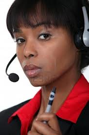 Call Center Lady