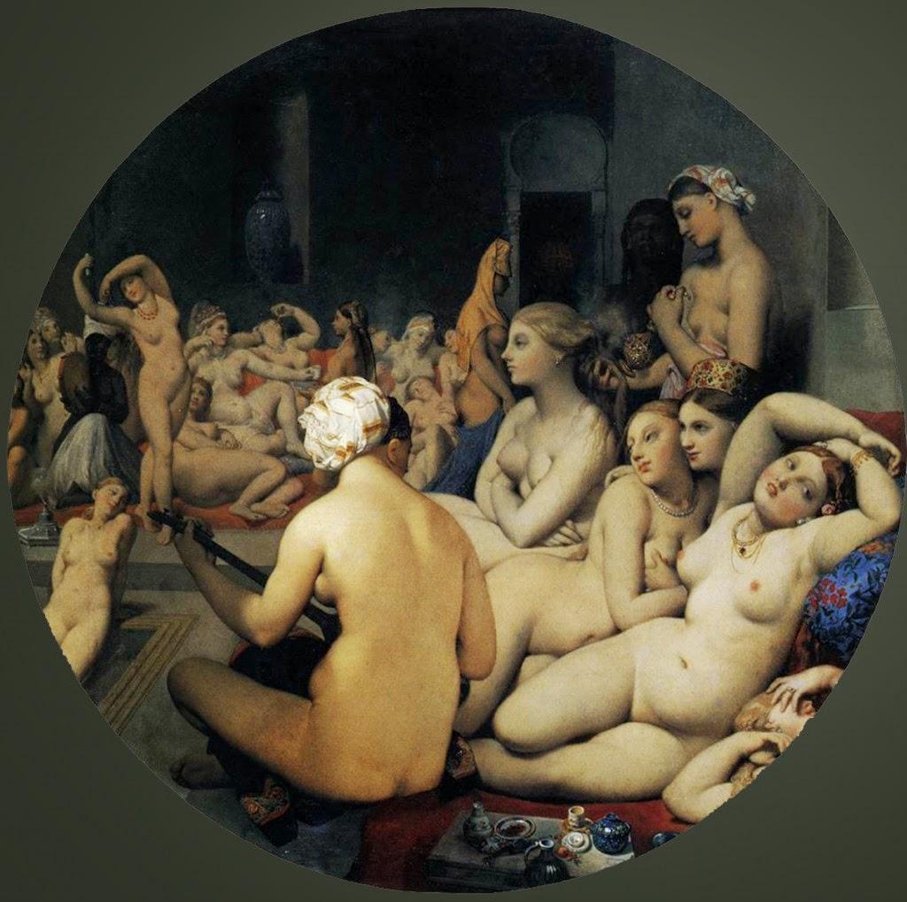 El Baño Turco | El Bano Turco Ingres Historia Del Arte Pinterest