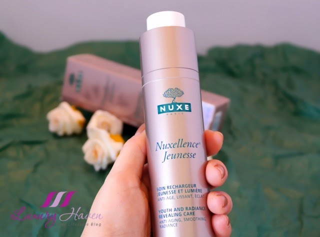 nuxe nuxellence jeunesse anti ageing skincare review