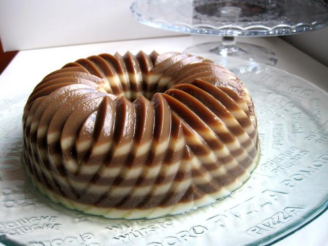 Tres Leche Bundt Cake Plated