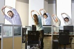 Sudah Lelaj di Tempat Kerja? Lakukan Olahraga Ringan di Kantor