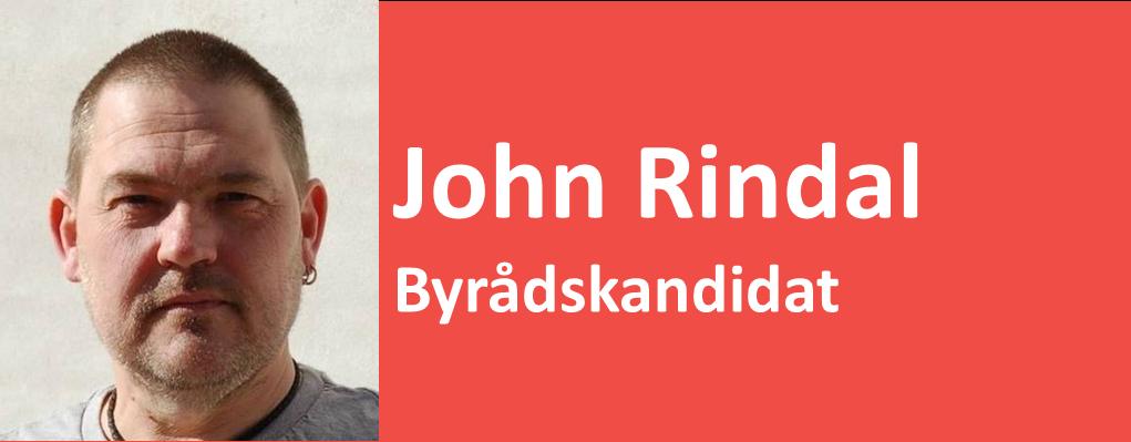 John Rindal Byrådskandidat