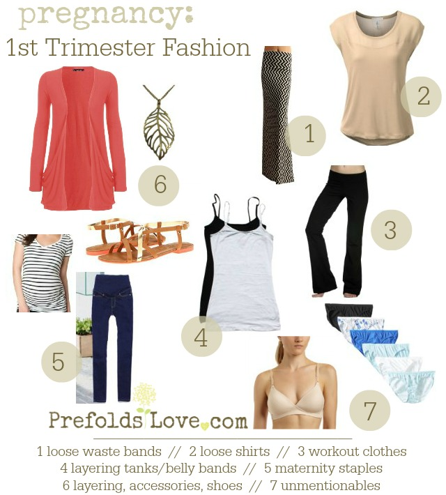First Trimester Fashion Staples