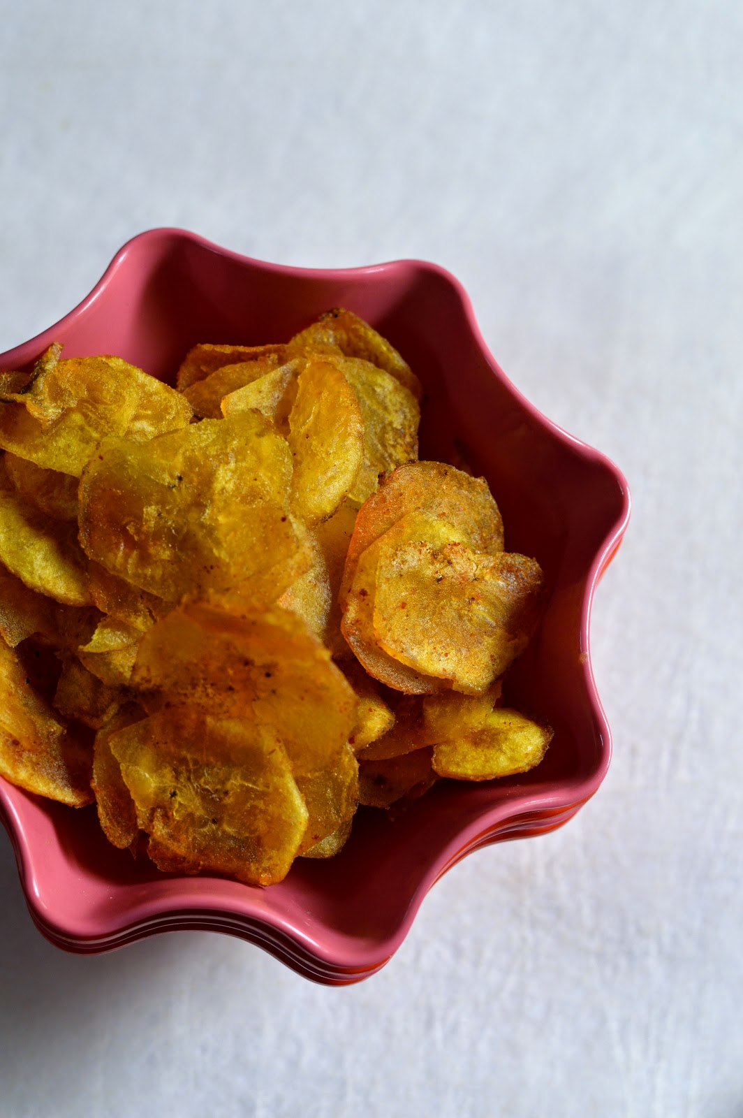 kerala nendran chips recipe step wise pictures, banana chips easy recipe at home, nendram pazham chips at home