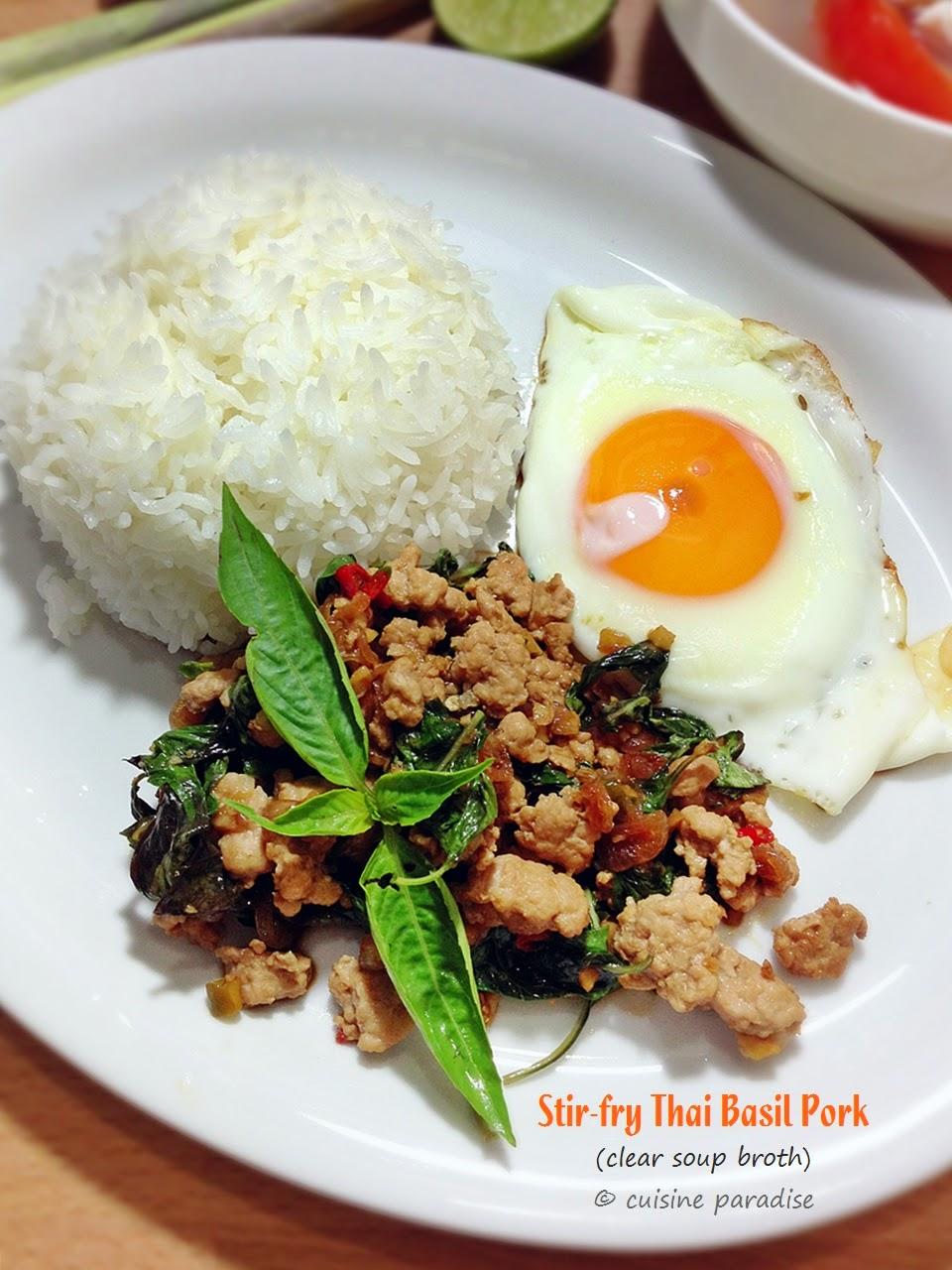 Cuisine paradise singapore food blog recipes reviews and travel cuisine paradise singapore food blog recipes reviews and travel 3 recipes thai style steamed pomfret seafood tom yum and thai basil minced pork forumfinder Gallery