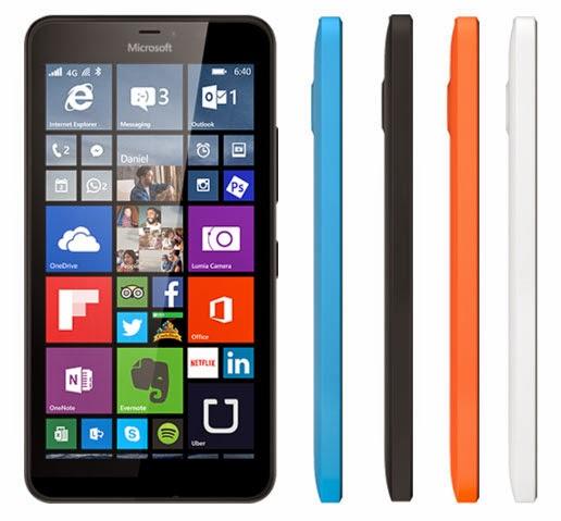 Harga dan Spek HP Microsoft Lumia 640