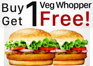 Paytm : Buy 1 Veg Whopper and Get one another absolutely FREE, Taxes are applicable extra – Buytoearn
