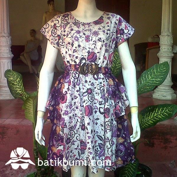 dress batik ciby gentong