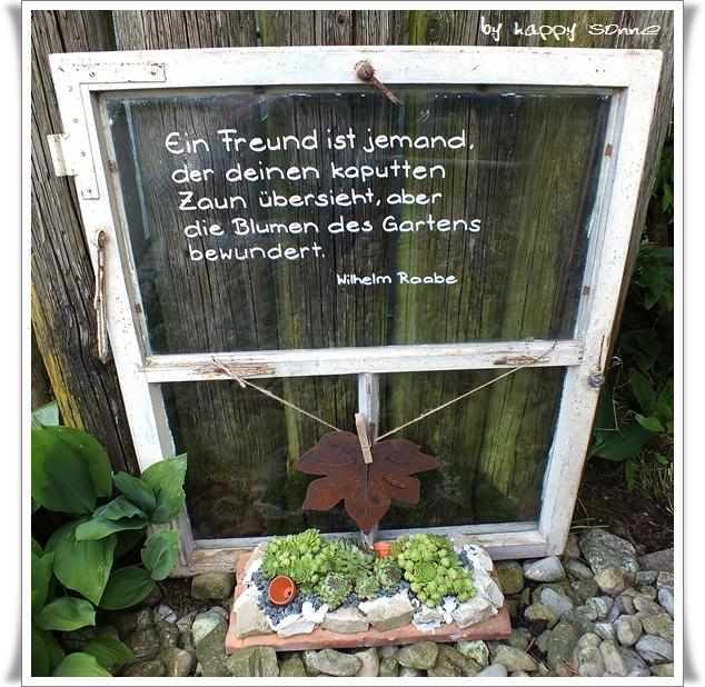 happy sonne: von hauswurz und beton-gugelhupf., Garten und erstellen