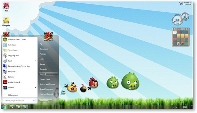 SIVA The ROCK: Angry Birds Windows 7 Theme Torrent Download
