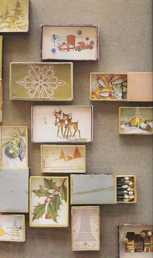 Old Fashioned Matchboxes