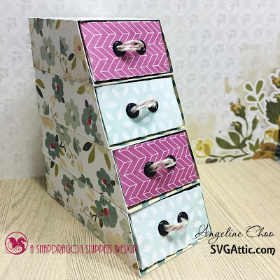 SVG Attic: Stack Drawers with Angeline - JGW Sweet Mother #svgattic #scrappyscrappy #svg #cutfile #drawers #papercraft #trendytwine