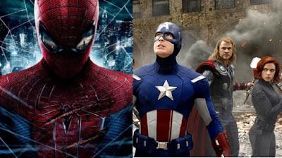 spiderman con los avengers