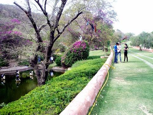 visitor kanak ghati garden