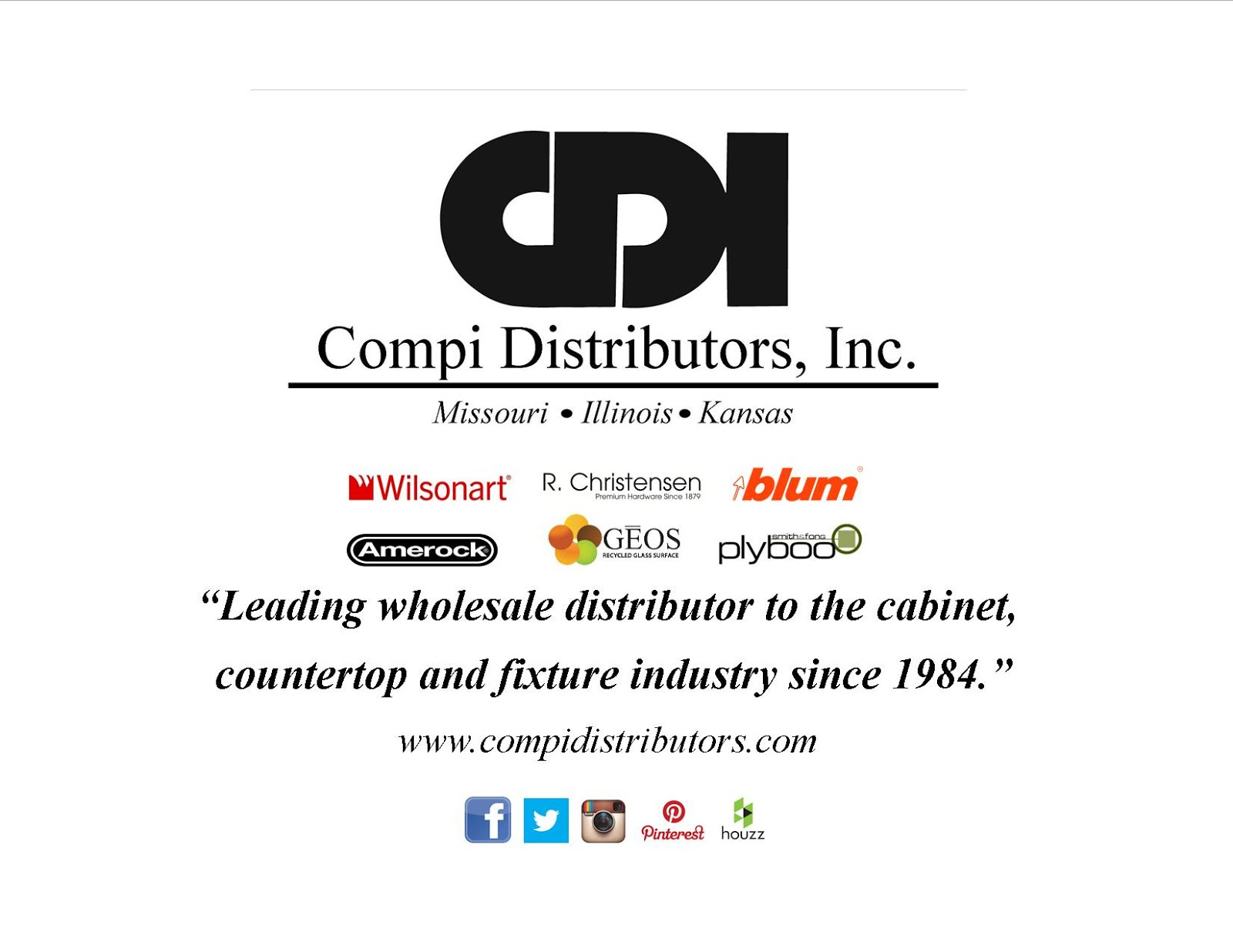 Thank you to our Star Sponsor Compi Distributors