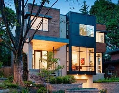 Gambar Desain dan Arsitektur Rumah Minimalis