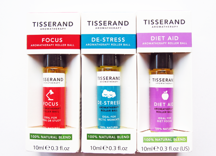A picture of Tisserand Aromatherapy Roller Balls - Focus, De-Stress and Diet Aid review