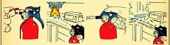 cara menggunakan alat pemadam kebakaran api ringan