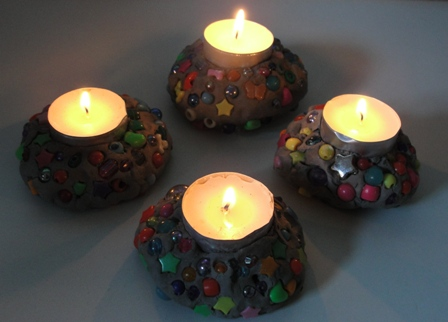 Sun hats wellie boots 20 alternative halloween for Alternative candle holders