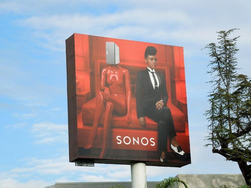 Sonos Janelle Monae billboard