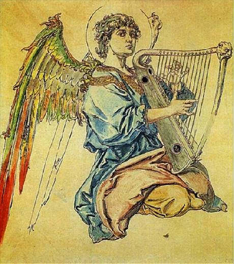 o muzyce s�owem i obrazem grajmy panu na harfie grajmy