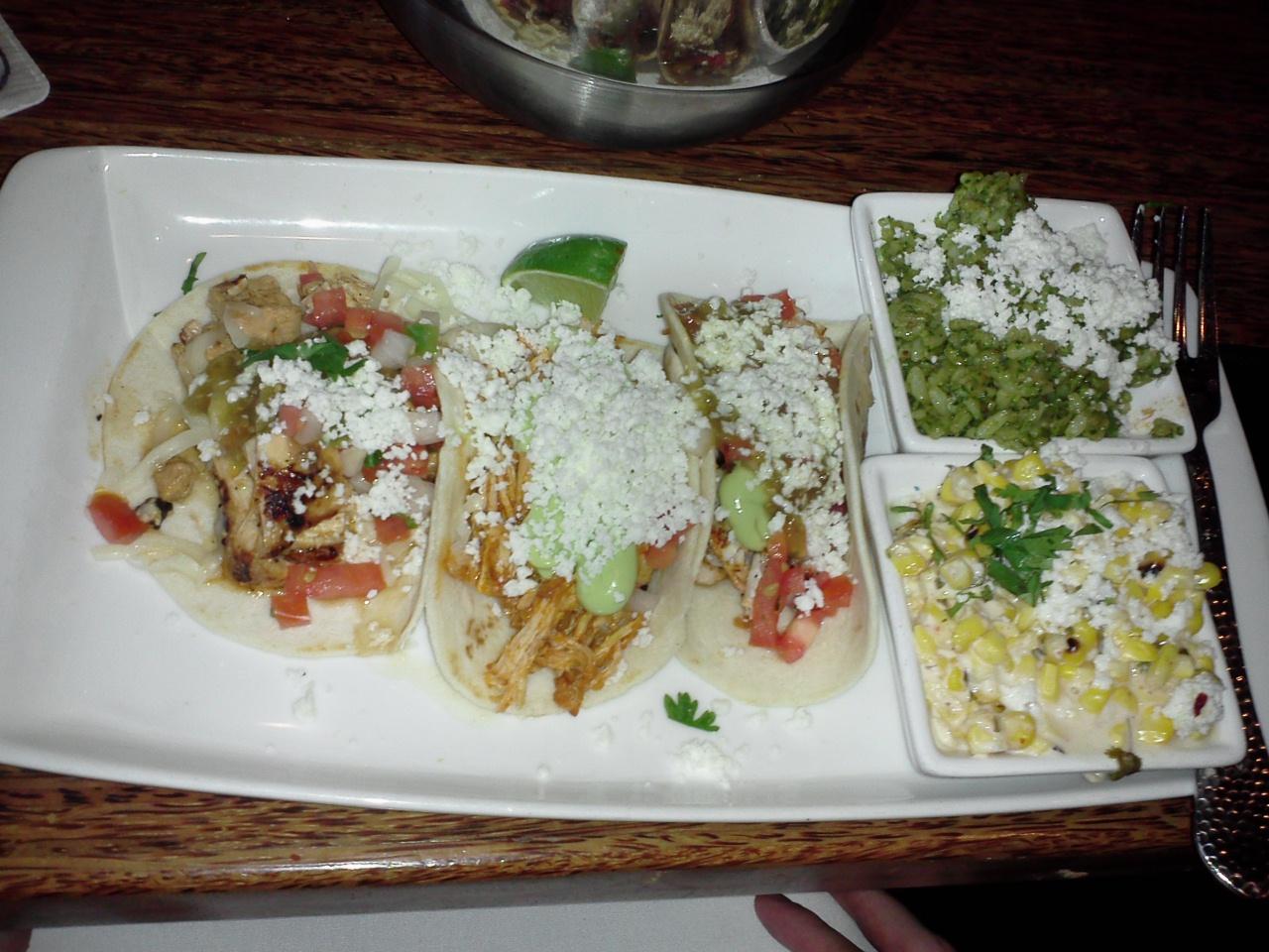 Urban taco 3 taco dinner