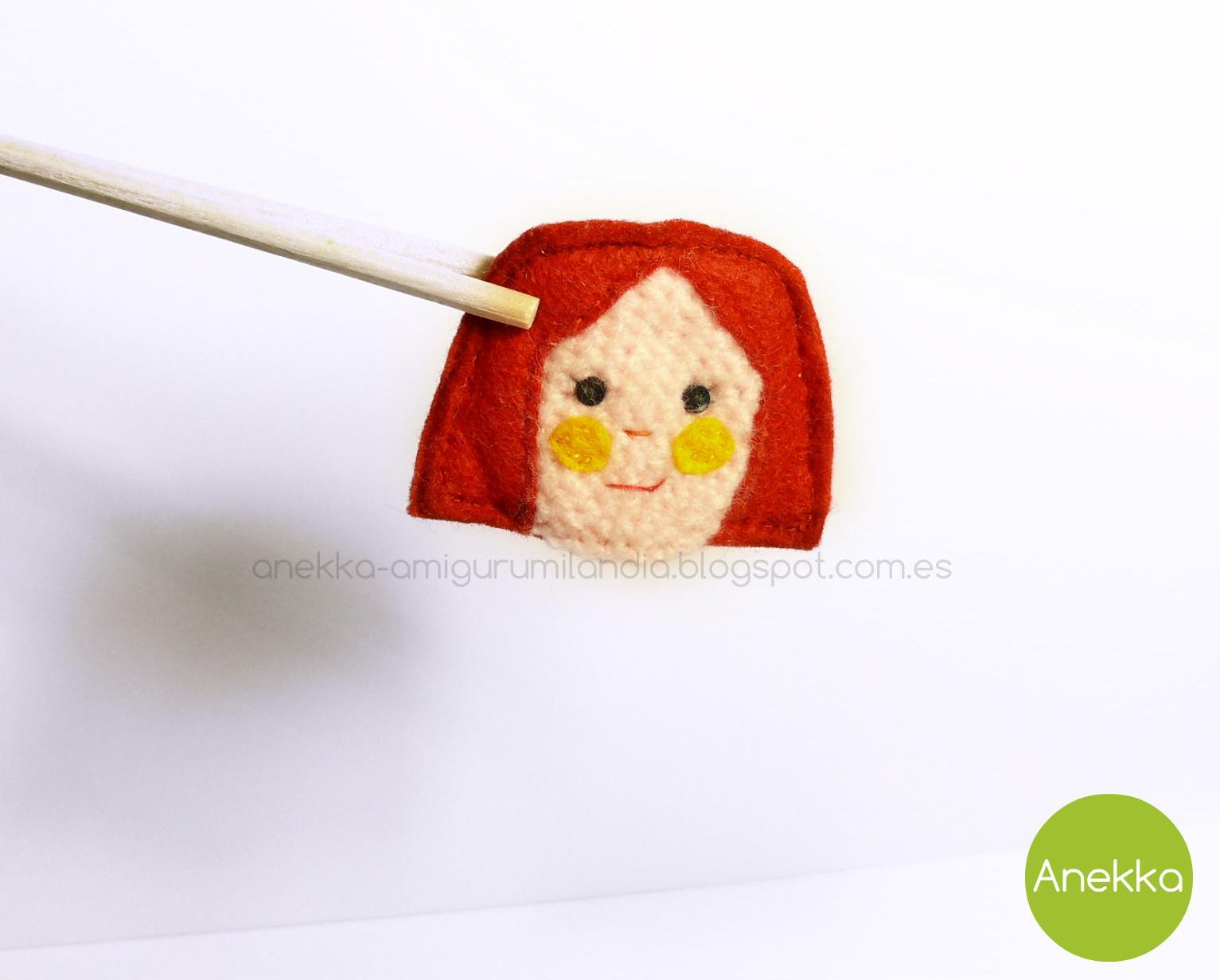 brooch girl anekka handmade