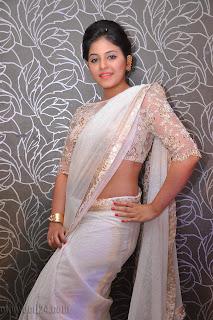 Anjali latest Glamorous pics in saree 032