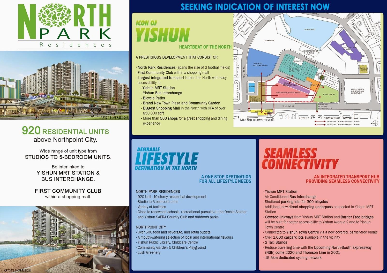 amenities near north park residences
