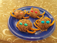 Ragnetti cioccolatosi: Ricette sfiziose halloween per bamini