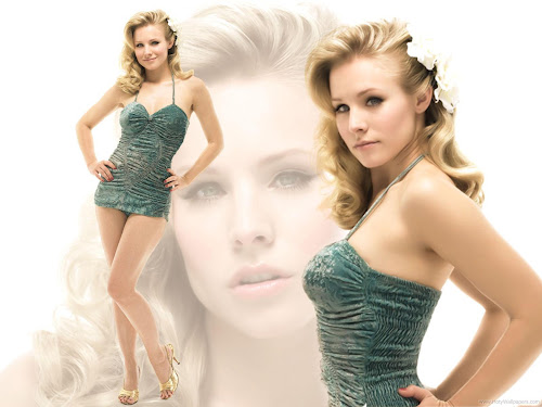 Kristen Bell Latest Photo Shoot Wallpaper-2011