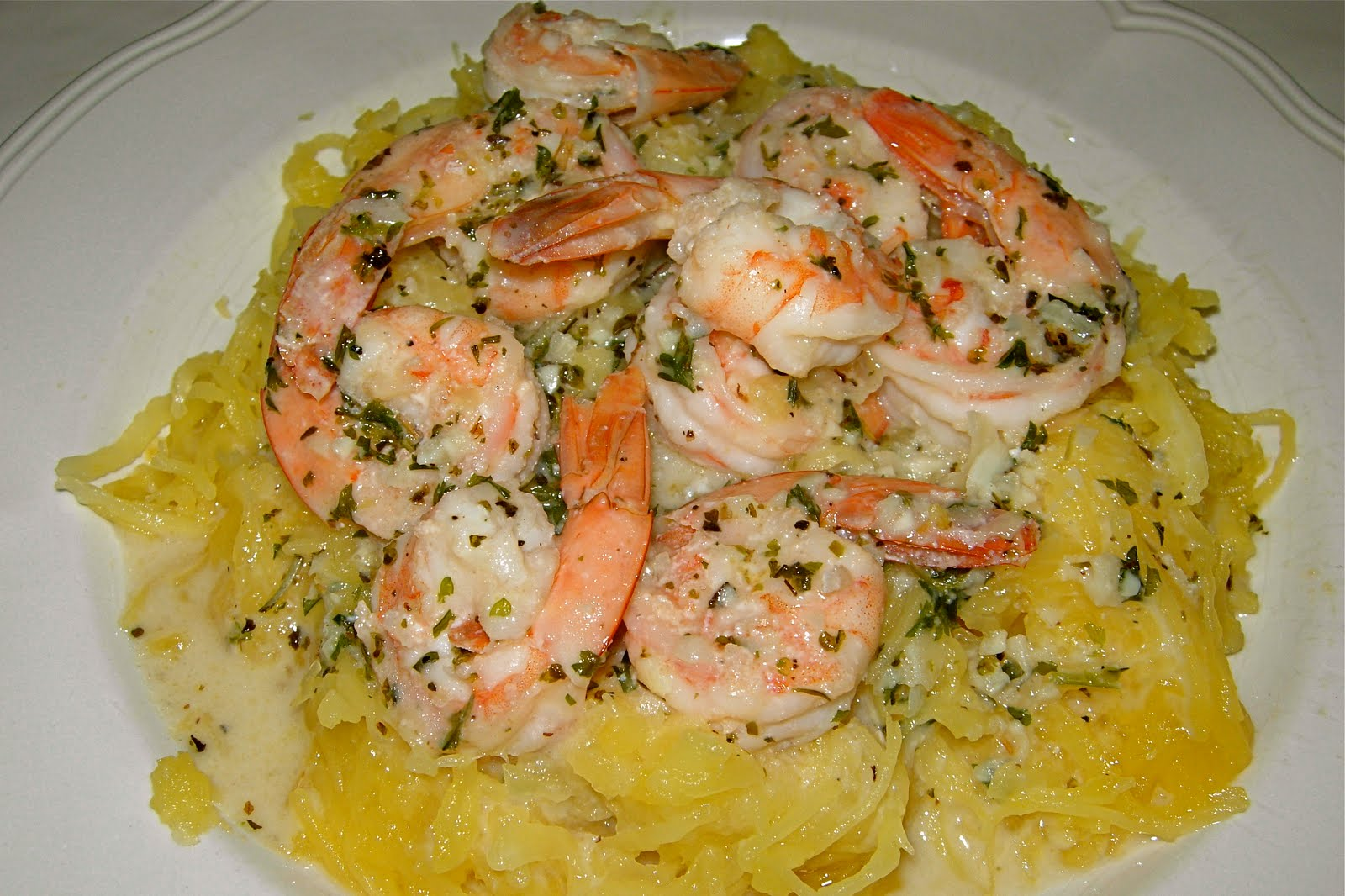 spaghetti squash recipes low calorie