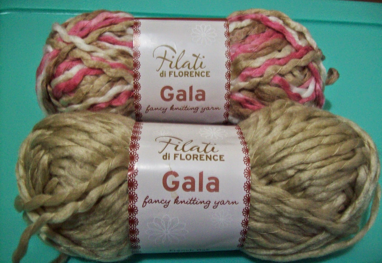 filati yarn for the crochet hat pattern