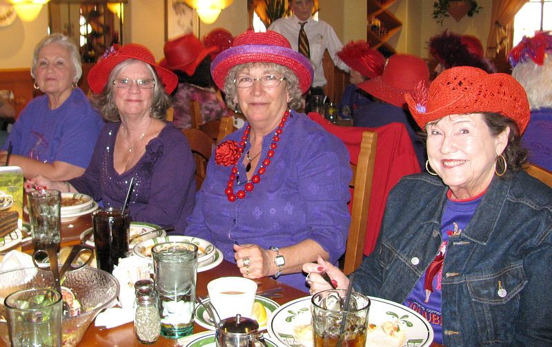 Carla 39 S Blog Red Hat Luncheon Book Signing Opal 39 S Husband